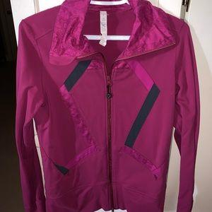 Lululemon sweat wicking workout jacket
